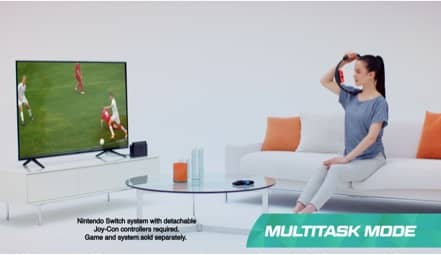 Play custom multitask video.